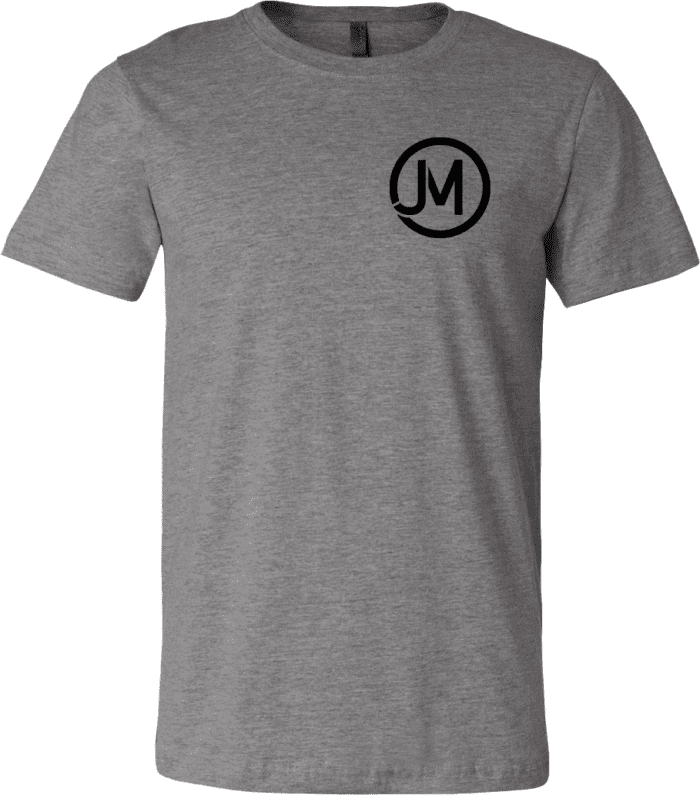Jacob Morris T-Shirts Grey