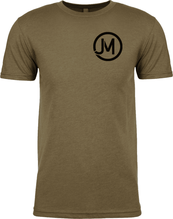 Jacob Morris T-Shirts Olive Green